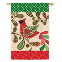 Holiday Cardinal House Banner, EE13S3172
