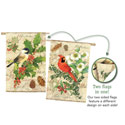 Holiday Birds House Banner, EE13S3175FB