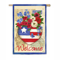 Patriotic Memories Welcome Banner, EE13S3393