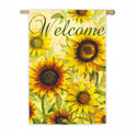 Yellow Sunflowers House Banner, EE13S3486
