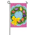 Easter Egg Wreath Garden Banner, EE14A2736G