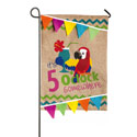 5 OClock Somewhere Garden Banner, EE14B3388BLG