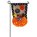 Halloween Candy Treat Garden Banner, EE14B3475BLG