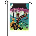 My Pretties Burlap Garden Flag, EE14B9379BLG