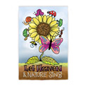 Let Heaven and Nature Sing Electro Luminescent Garden Banner, EE14EL2244G