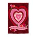 Happy Valentine's Day Electro Luminescent Banner, EE14EL2393G