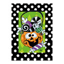 Candy Jack Greeting Card and Garden Banner, EE14GC2541