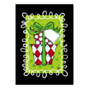 Polka Dot Presents Greeting Card and Garden Banner, EE14GC2549