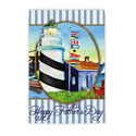 Nautical Happy Father's Day Banner