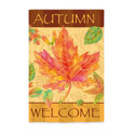 Welcome Autumn Leaves Banner, EE14S2649G