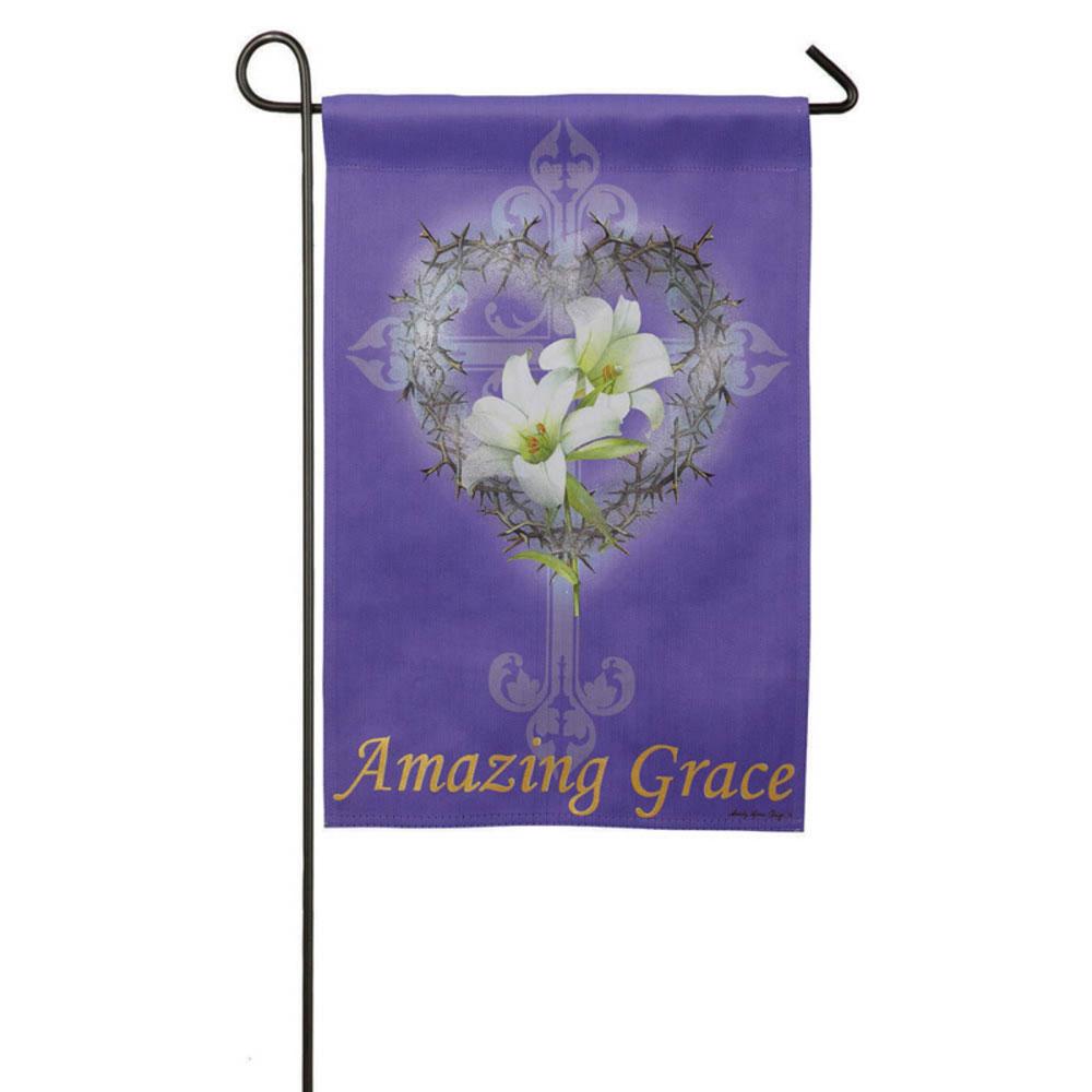 Amazing Grace: Amazing Grace Garden Banner, EE14S2735BLG