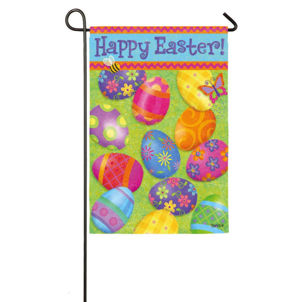 Happy Easter Garden Banner