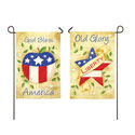 America the Beautiful Double Sided Banner, EE14S2809FBG
