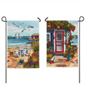 Sea Shore Double Sided Banner, EE14S2902FBG