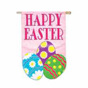 Double-Sided  Happy Easter Banner