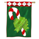 Candy Cane Fun House Banner, EE158109BL
