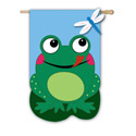 Frog House Banner, EE158195