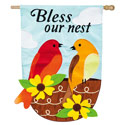 Bless Our Nest Applique House Banner, EE158531