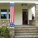 Patriotic Column Wrap, EE15P013
