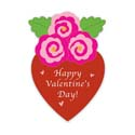 Heart and Roses Valentine Banner, EE167953G