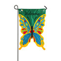 Butterfly Welcome Garden Banner, EE168394