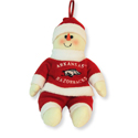 Arkansas Plush Snowflake Friend, EE17164SC