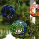 Glass Circle Bird Feeders