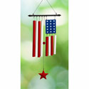 American Flag Wind Chimes, EE2WC1521