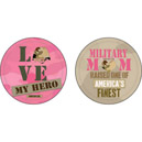 Military Mom Absorbent Car Coasters, EE3CAR4699A