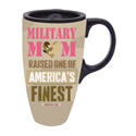 Military Mom Ceramic Latte Travel Cup withGift Box, EE3LTM4699A