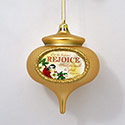 Christmas Carol Rejoice Ornament, EE3OT4719R
