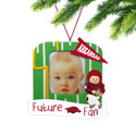 Arkansas Razorbacks Future Fan Photo Frame Ornament, EE3OT911FF