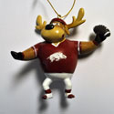 University of Arkansas Passing Reindeer Ornament, EE3OT911RPP
