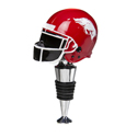 Arkansas Razorbacks Helmet Bottle Stopper, EE3WS911B