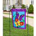 Metal Flag Arbor Stand or Door Hanger