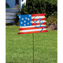 American Flag Garden Stake, EE489504