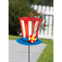 Uncle Sams Hat Garden Stake, EE489506