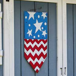 Patriotic Door Hanger, EE490073