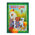 Fall Adirondack Chair Banner, EE71640G
