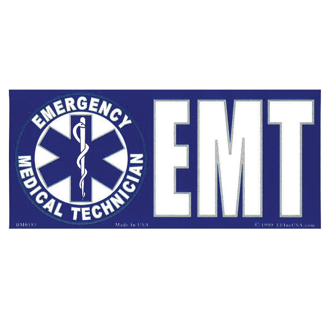 Emt Logo Sticker Flagandbanner Com