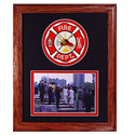 Fire Department Photo Frame, EEIFP0003
