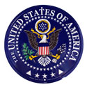 United States of America Seal Sign, EEISG9016