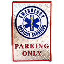 Emergency Medical Services Parking Only Sign, EEISG9131