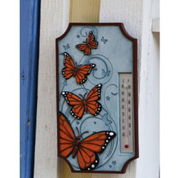 Butterfly Outdoor Garden Thermometer, EEP549B