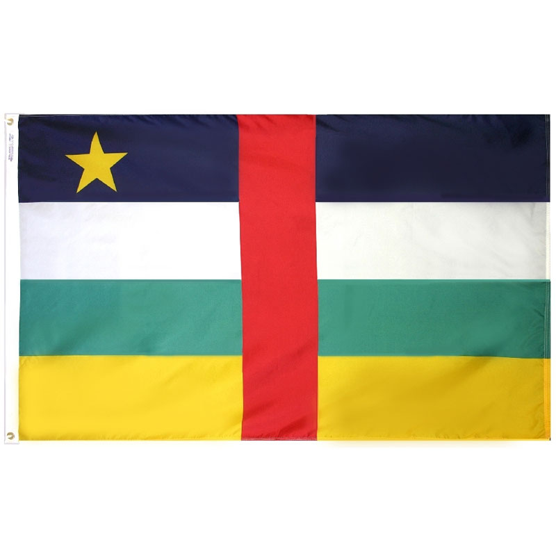 Central African Republic Flag, FBPP0000009880