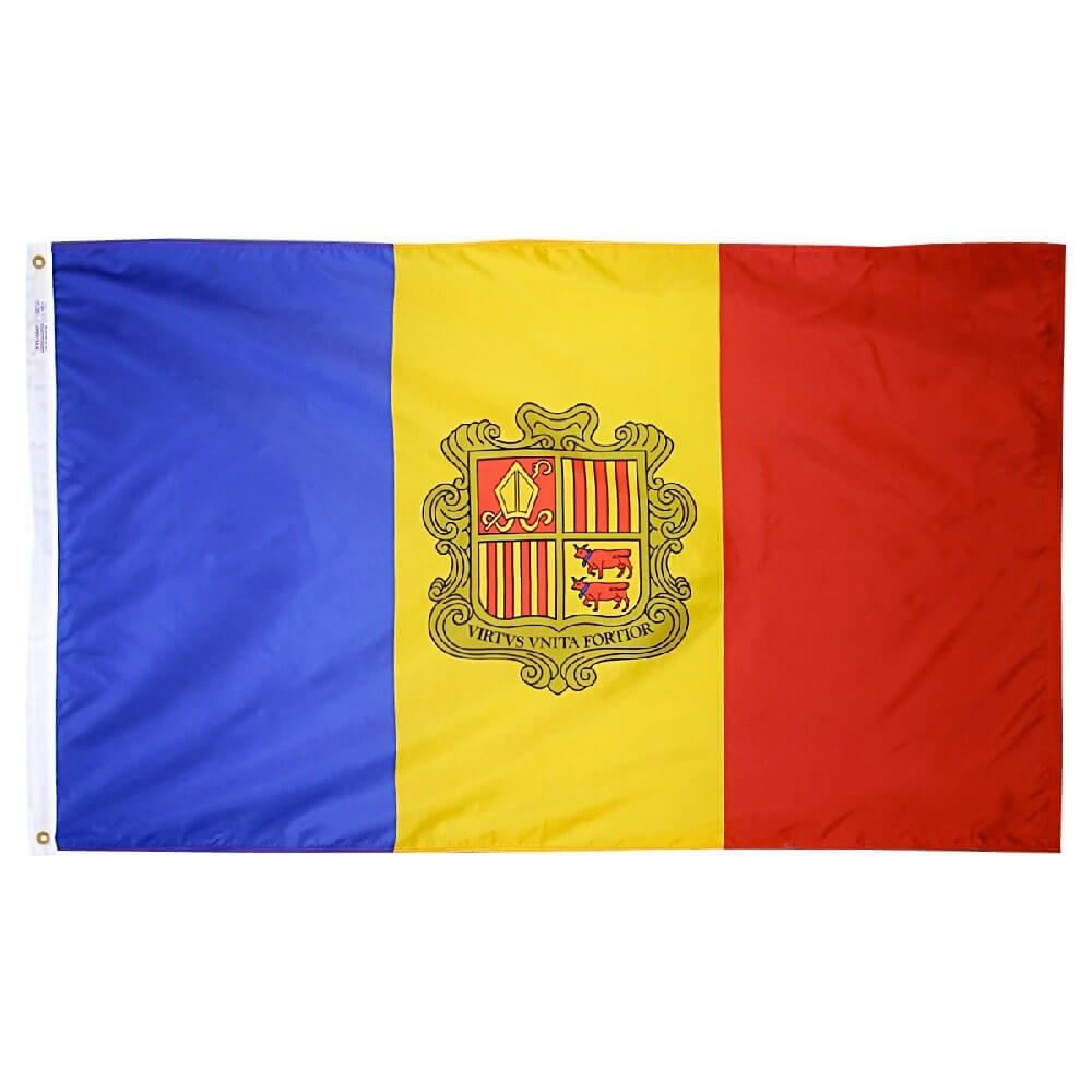 Andorra National Flag, FBPP0000009504