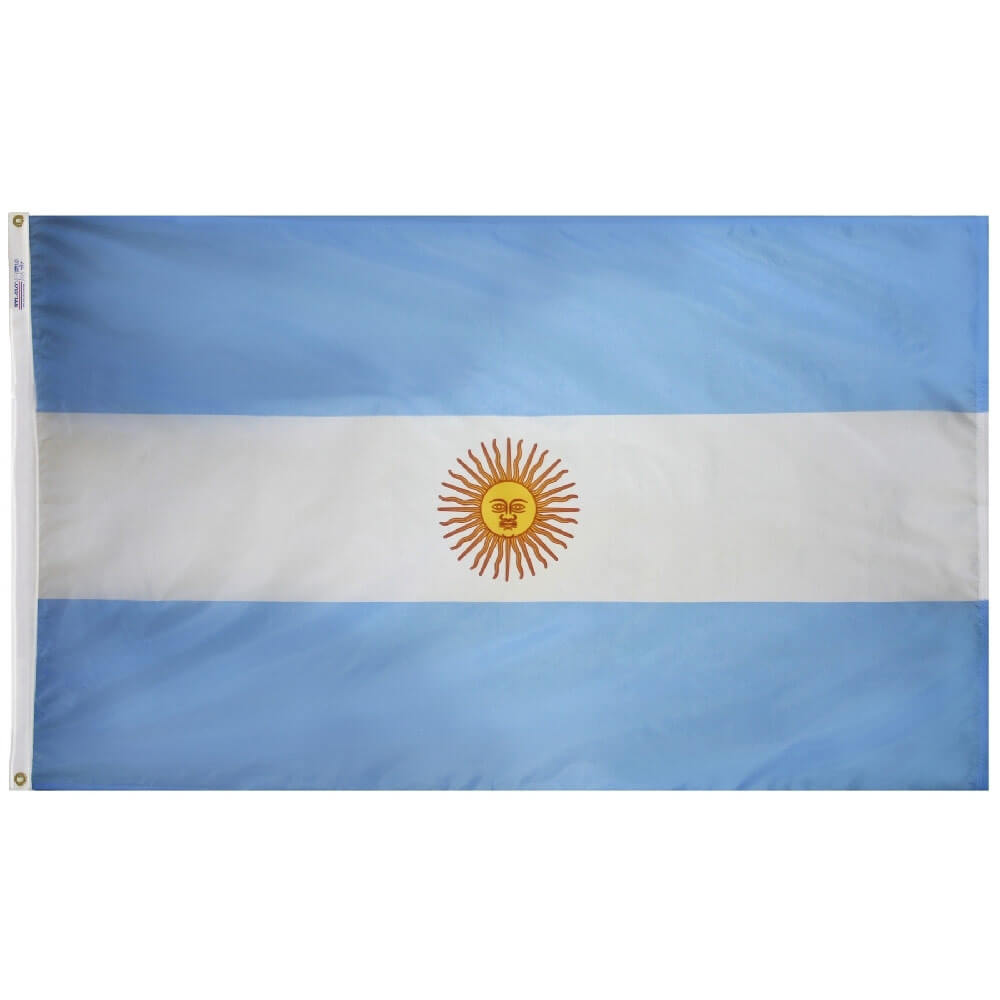 Argentina National Flag, FARGE1218P