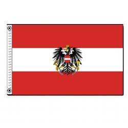 Austria Flag with Eagle, FAUST35E
