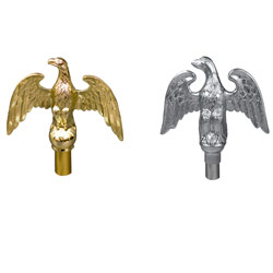 Perched Eagle Ornament with Ferrule, FBPP0000011349