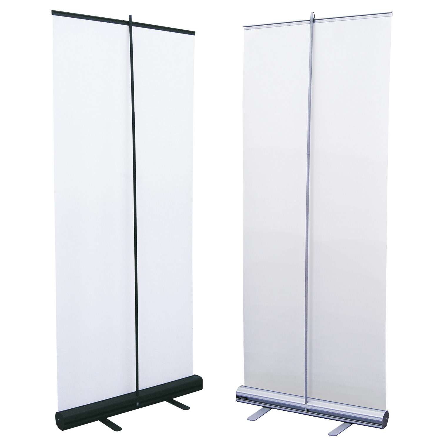 Economy Single Retractable Banner Stand